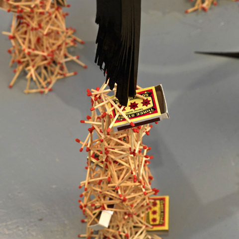 Bifurcation Chair, 2009 (detail)