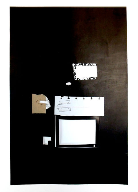 Untitled (Emptied Mind Map), 2009