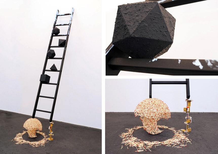 Model of the Universe No. 6 (Escatalogical Conveyor), 2011