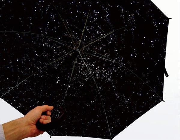Finite Probabilities, Infinite Possibilities, 2006 Umbrella with holes