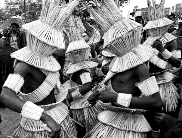 Balobedu tribal traditional dancers, Modjadji Northern Province