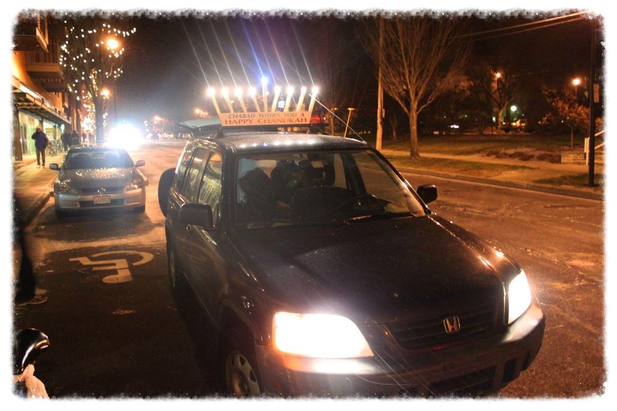 The Car Menorah