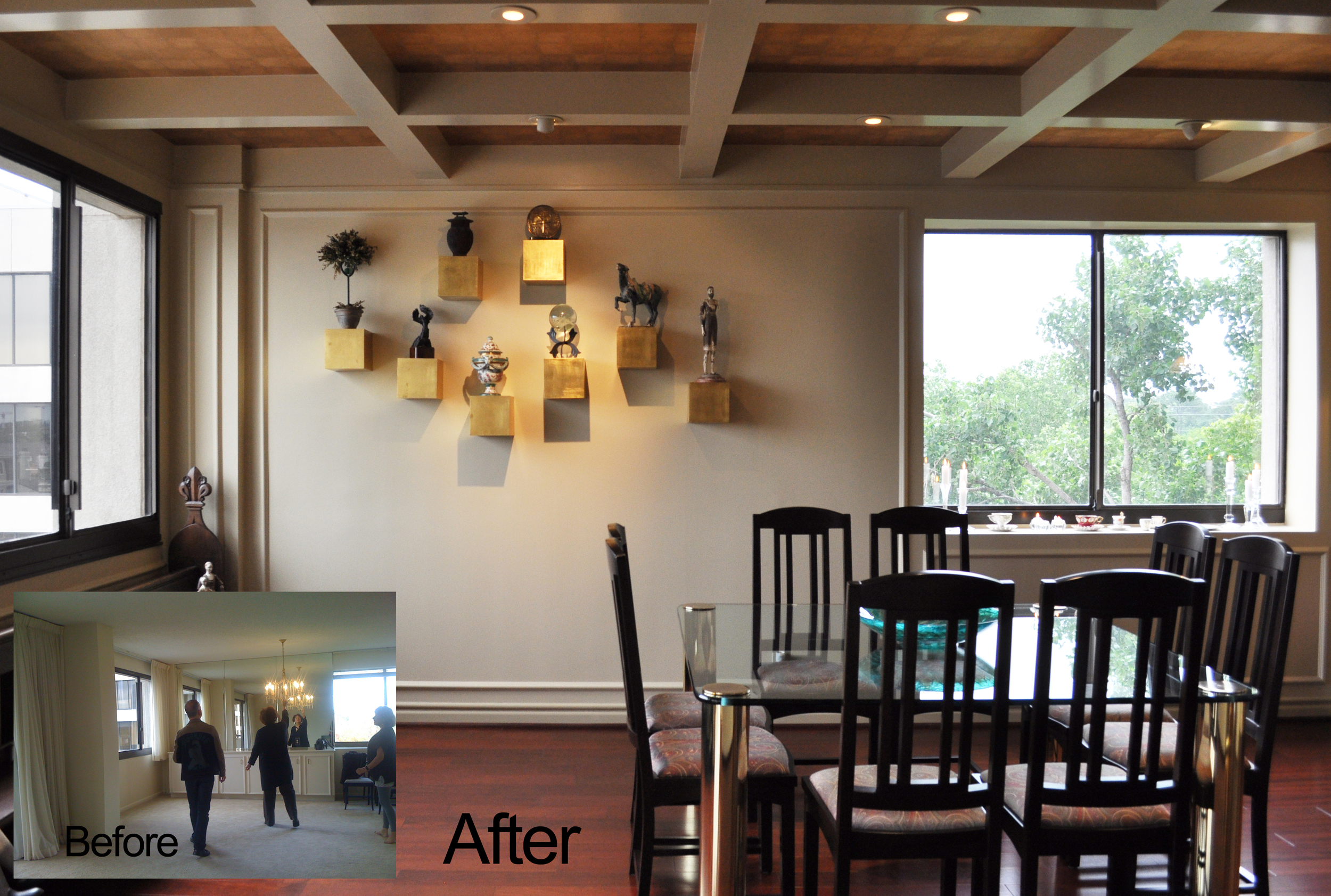 Jamie House Design Dining Room Remodel Before and After