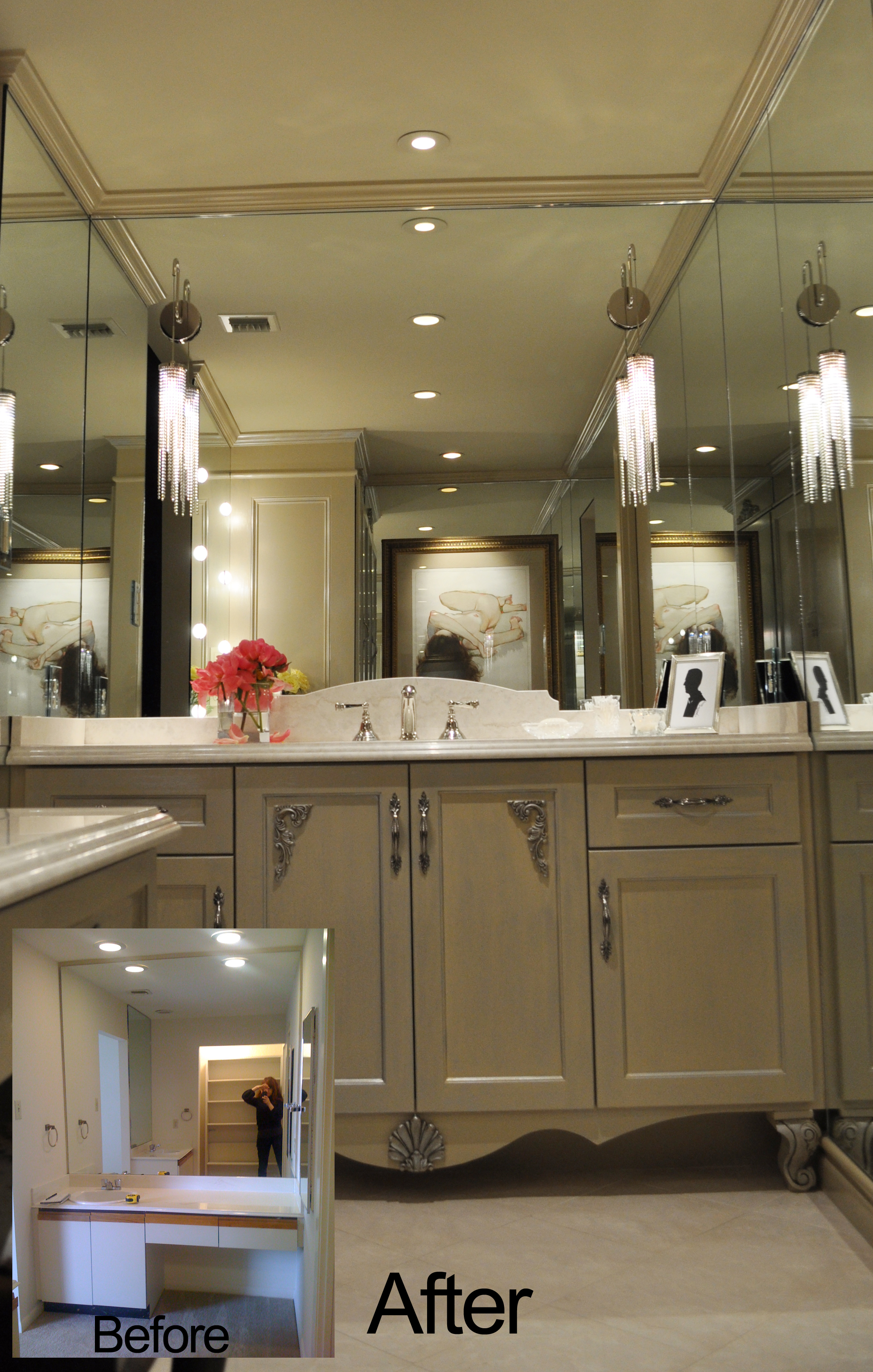 Jamie House Design MasterBath Remodel Before and After