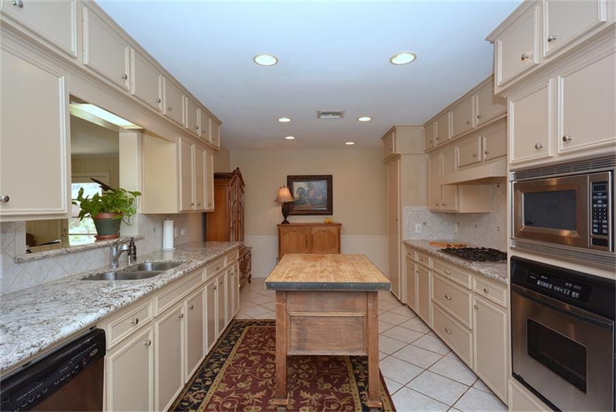 Before image of a kitchen remodel by Jamie House Design