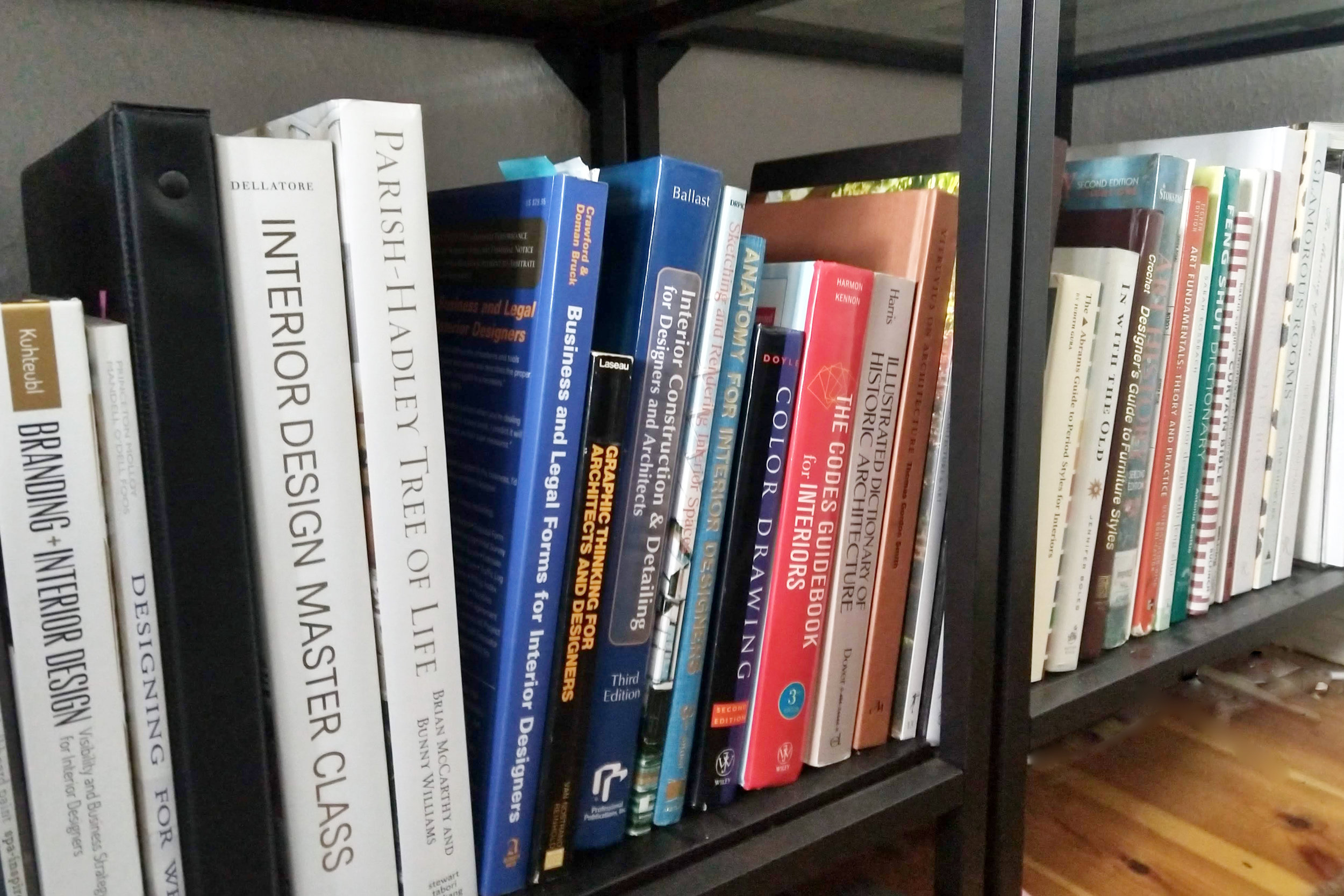 Interior Design books to read for JHD Design School by Jamie House Design