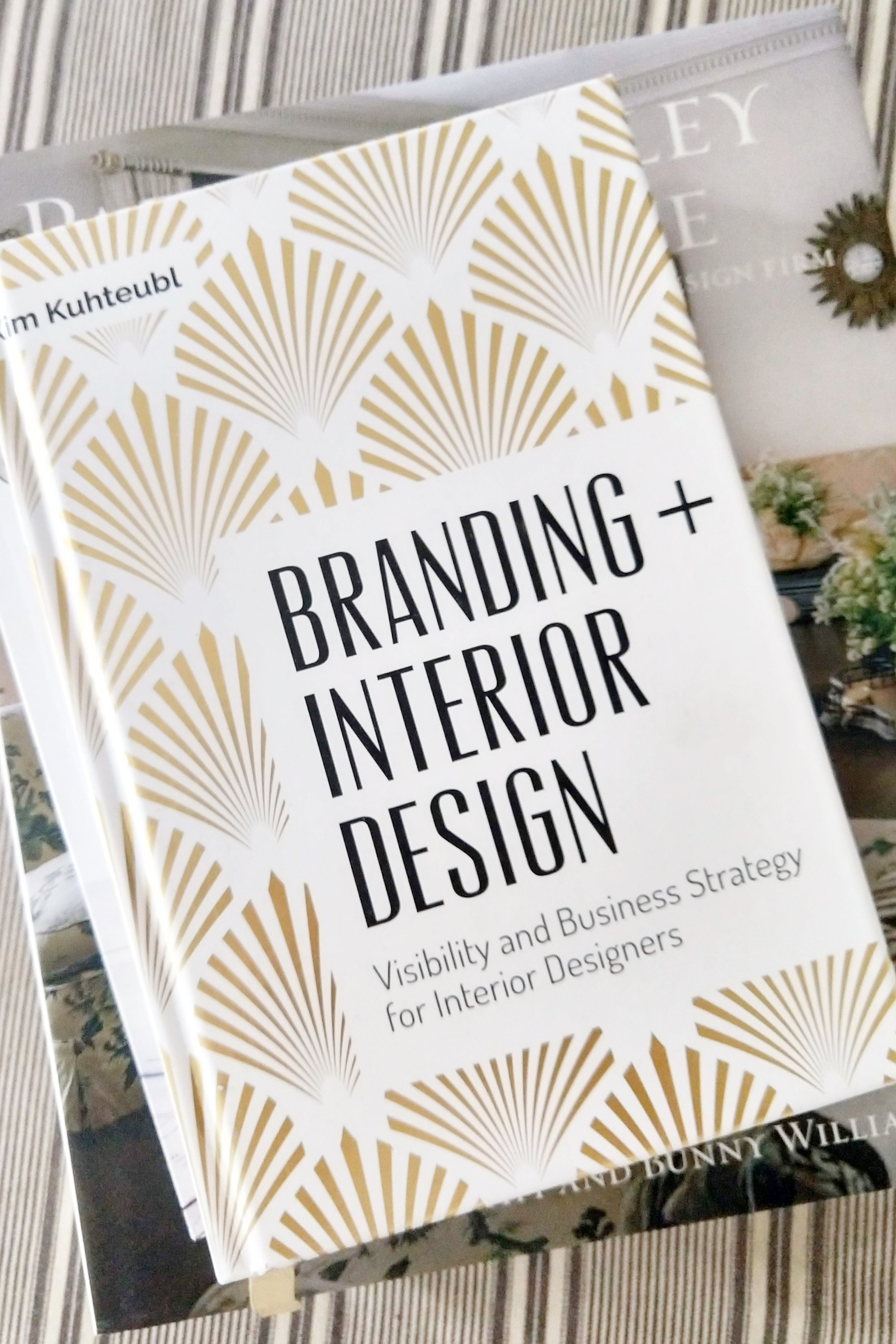 Branding + Interior Design by Kim Kuhteubl for JHD Design School by Jamie House Design