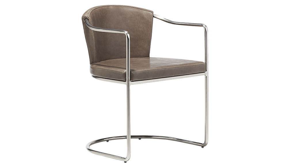 What I Would Buy CB2 Edition by Jamie House Design- Cleo Grey Cantilever Chair