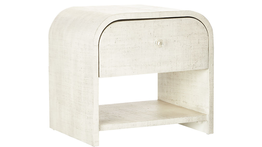 What I Would Buy CB2 Furniture Edition by Jamie House Design- Archer Lacquered Linen Nightstand