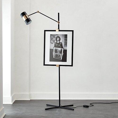 CB2 Art Easel Floor Lamp