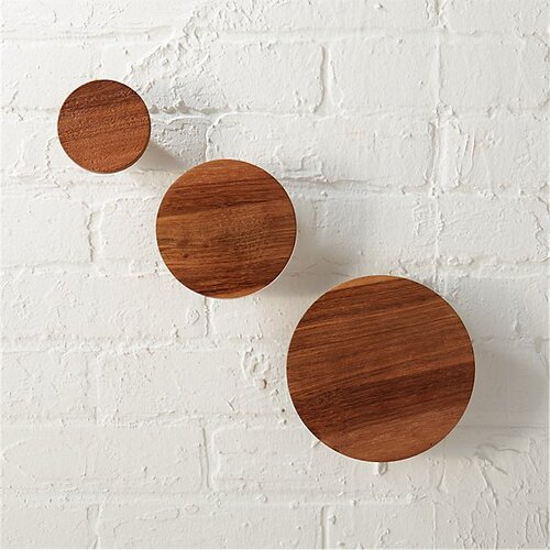What I Would Buy CB2 Accessories Edition by Jamie House Design- Set of 3 Dot Coat Hooks