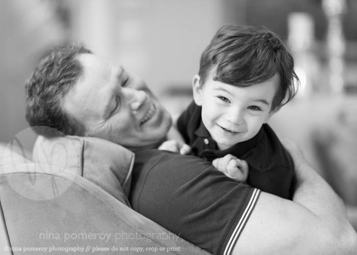 father and son playtime ninapomeroy.com CT photographer