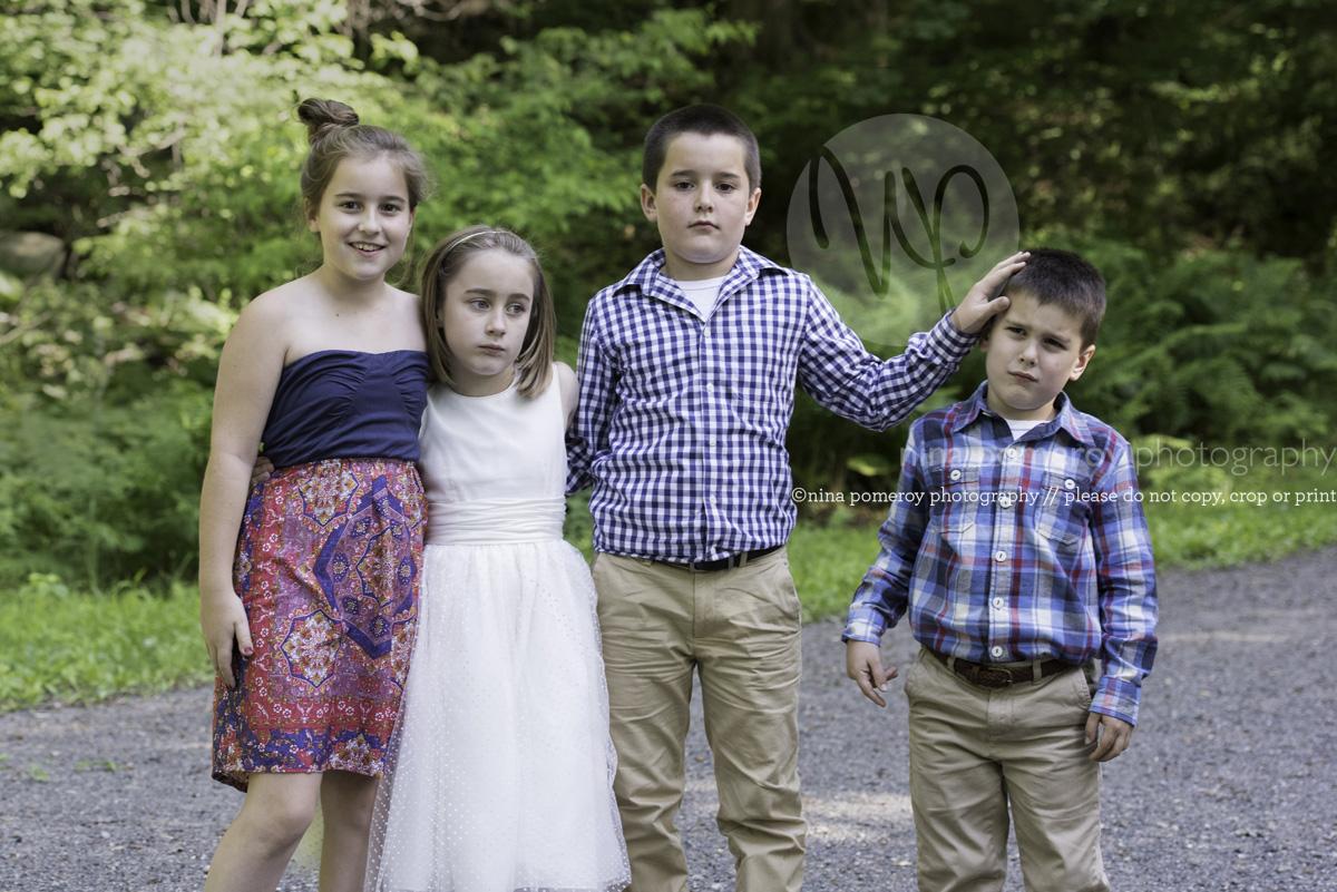 bay area family photos. sibling rivalry portraits outdoors ninapomeroy.com