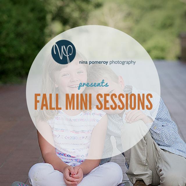 mini sessions fall ninapomeroy.com
