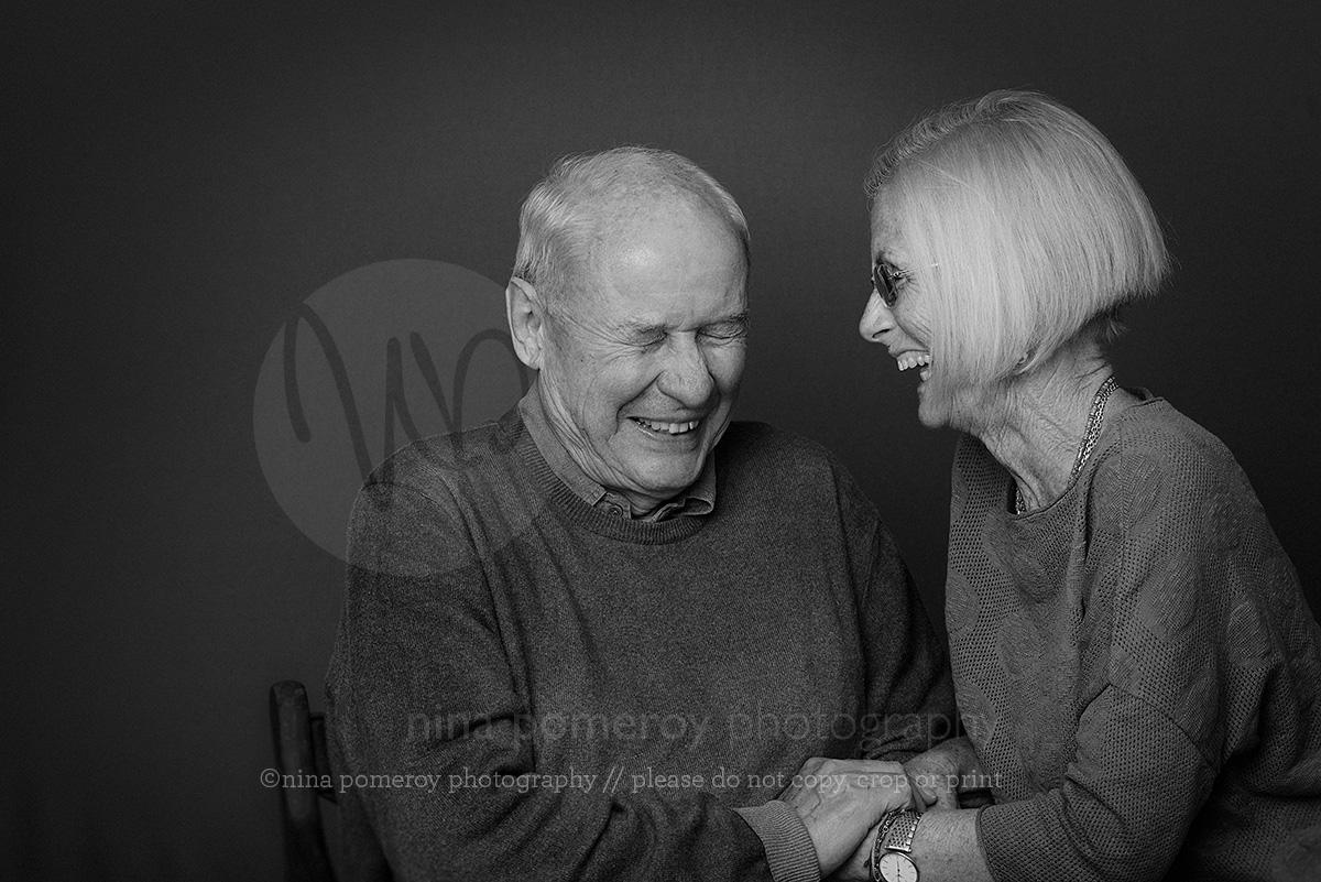 Fun family studio grandparent portraits ninapomeroy.com