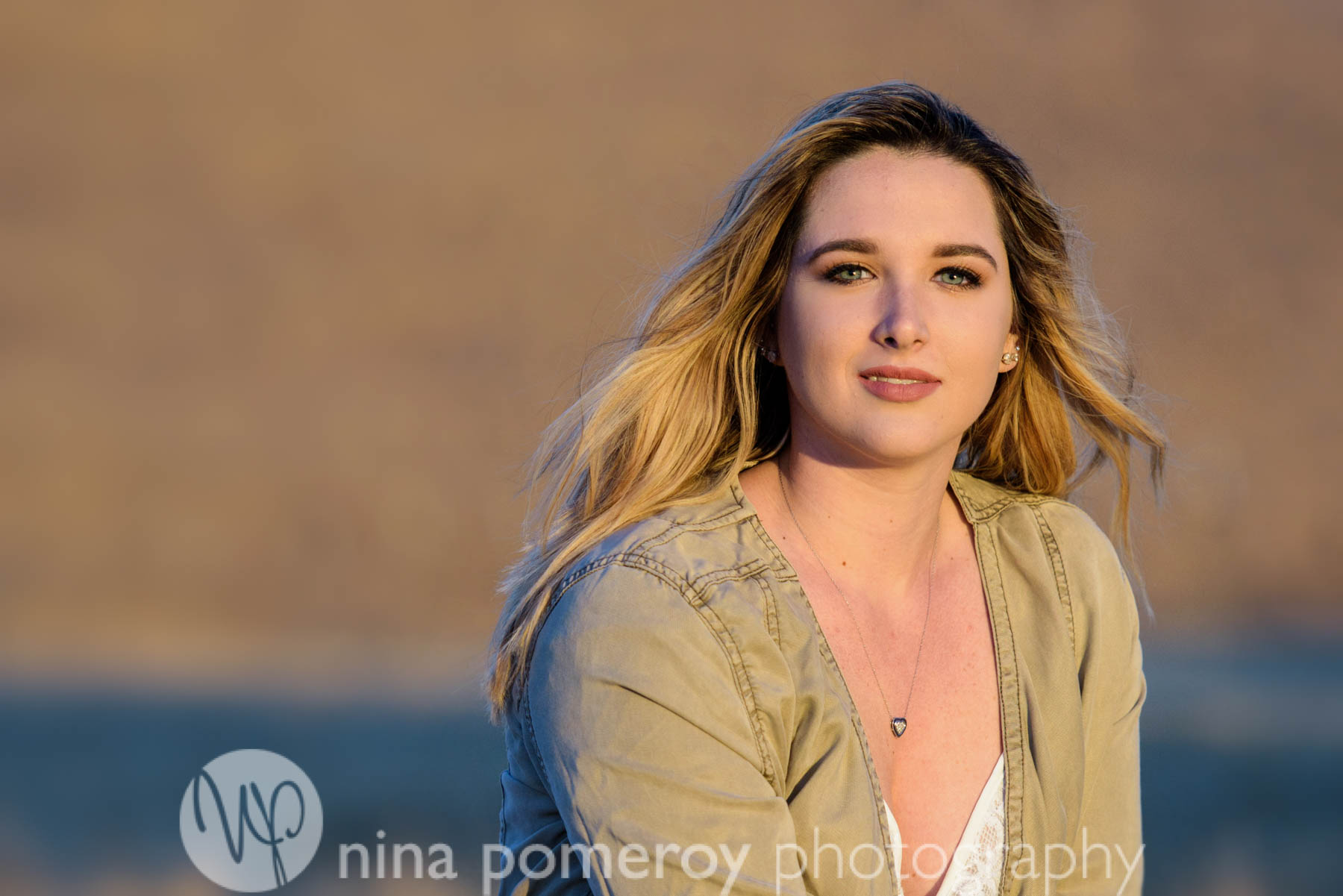 Dougherty Valley High School Senior Photos in the beautiful sunset light in San ramon valley hills by Nina Pomeroy