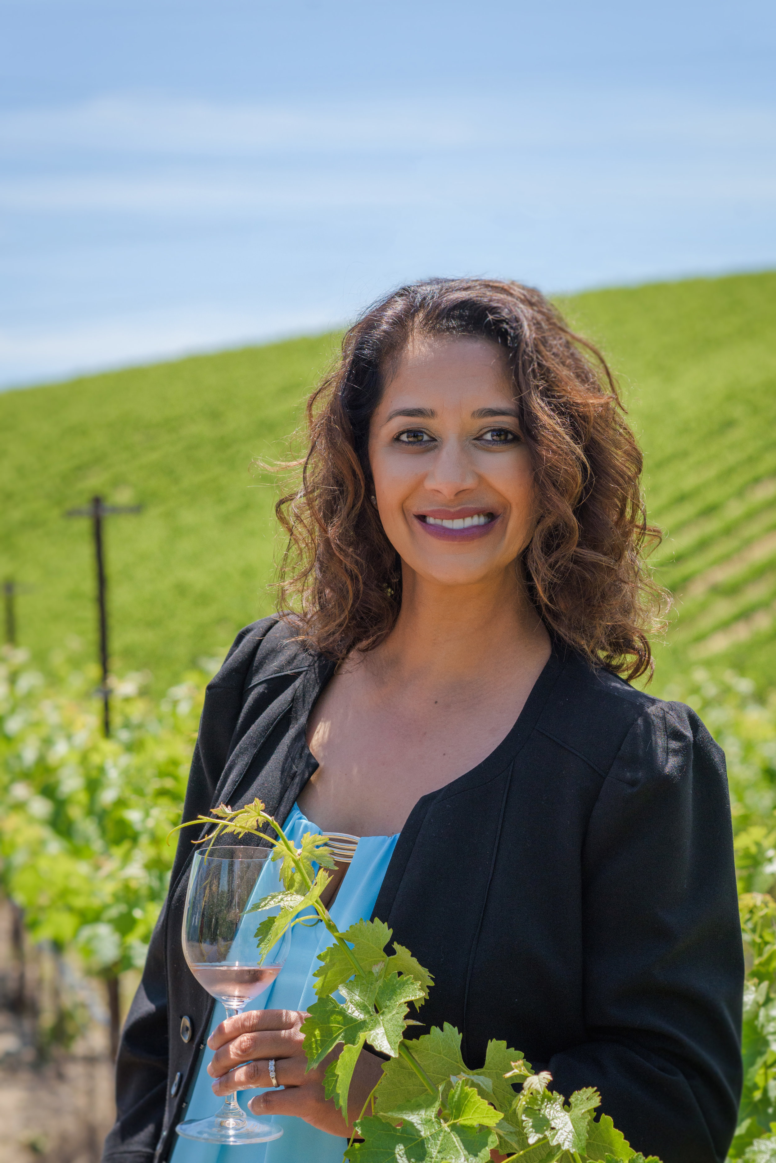 Branding and Headshot photography for luxury travel agent specializing in wine tasting vacations by bay area of San Francisco photographer Nina Pomeroy