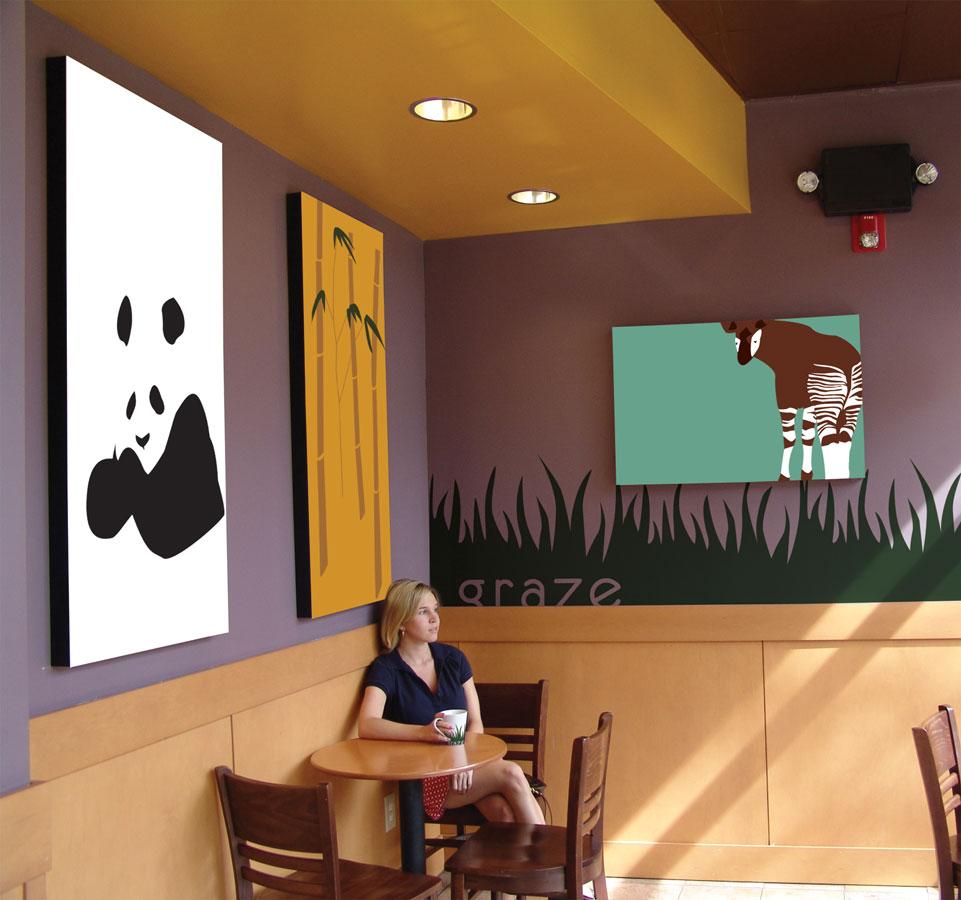 Graze Cafe Branding, Interior, & Product Design