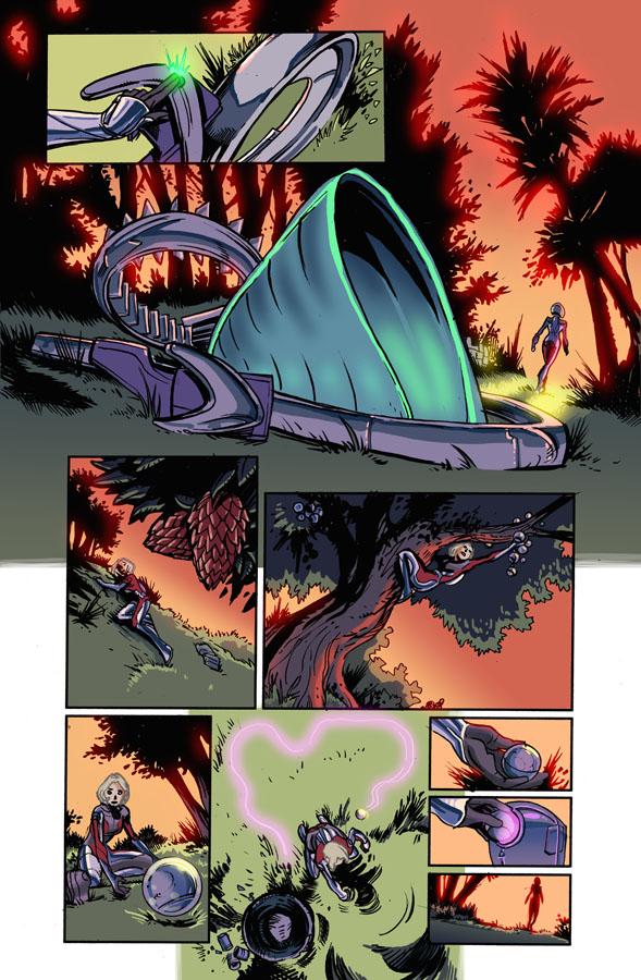 Linework by Steve Ellis. Colors by Jules Rivera.