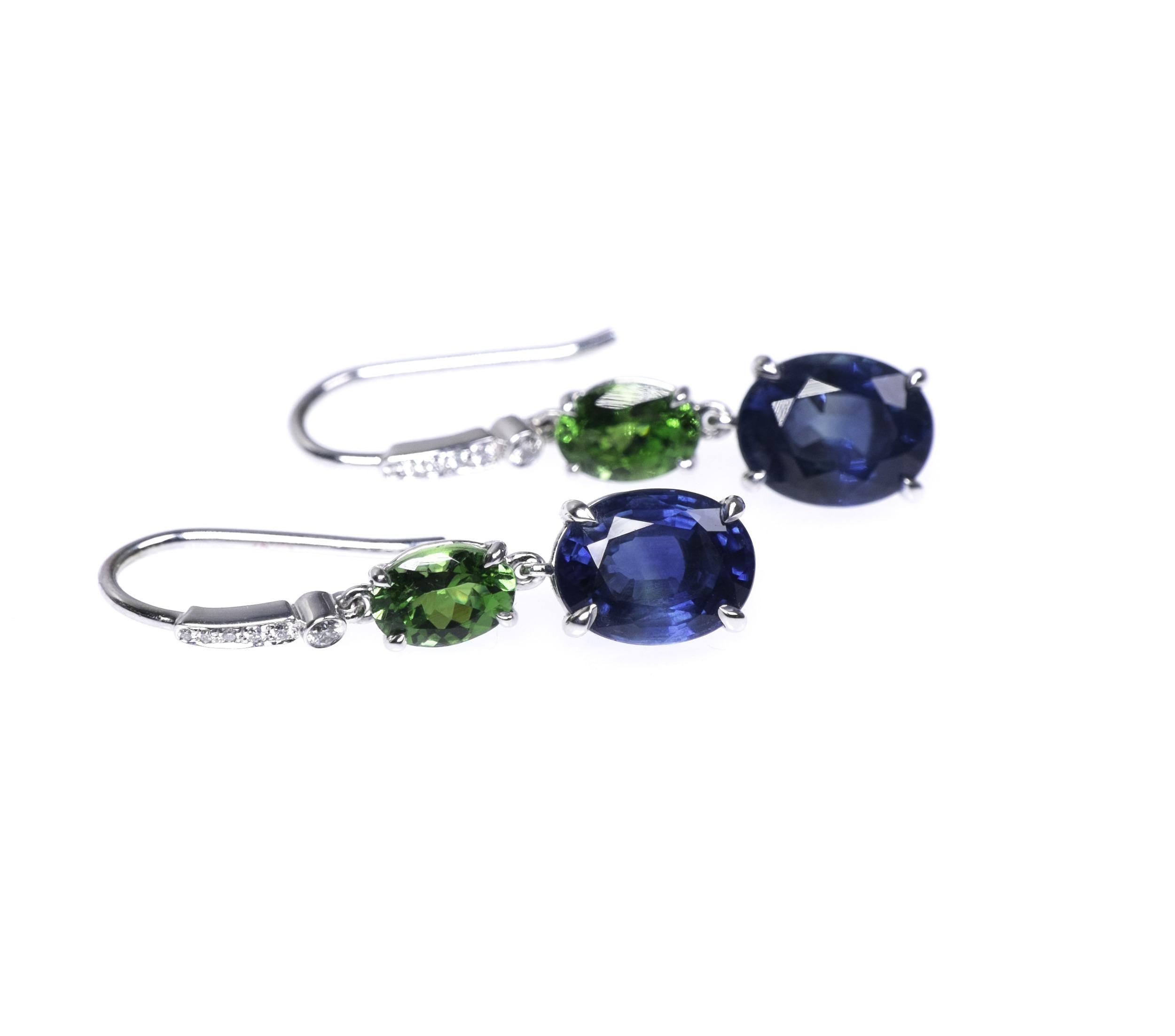 Sapphire and Tsavorite Earring.jpg