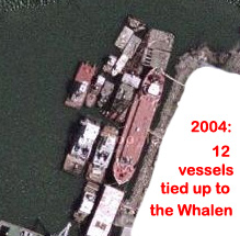 Whalen as EB dock 2004 w-caption.jpg