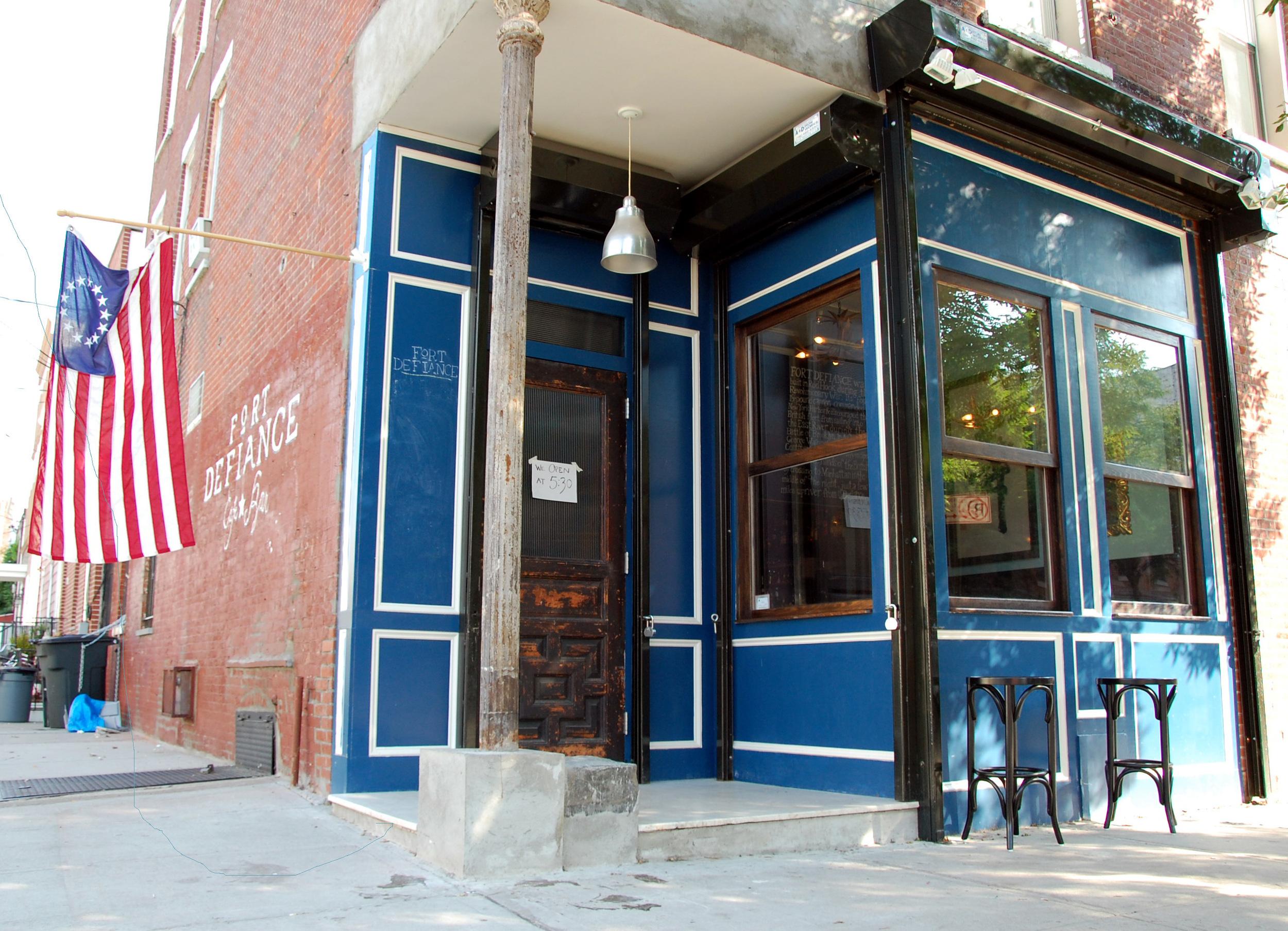 Fort Defiance cafe/bar serving all day