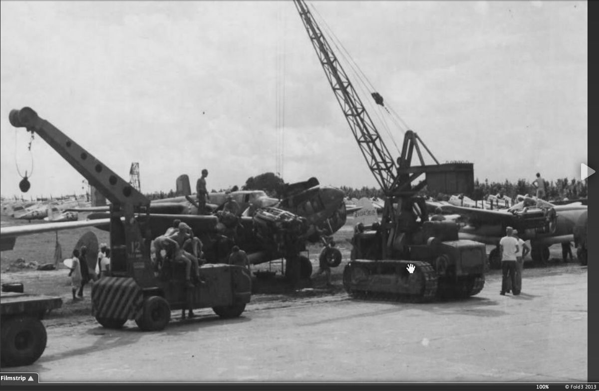 COLLECTION HYSTER KARRY KRANE MOBILE CRANE USAF USNAVY WWII