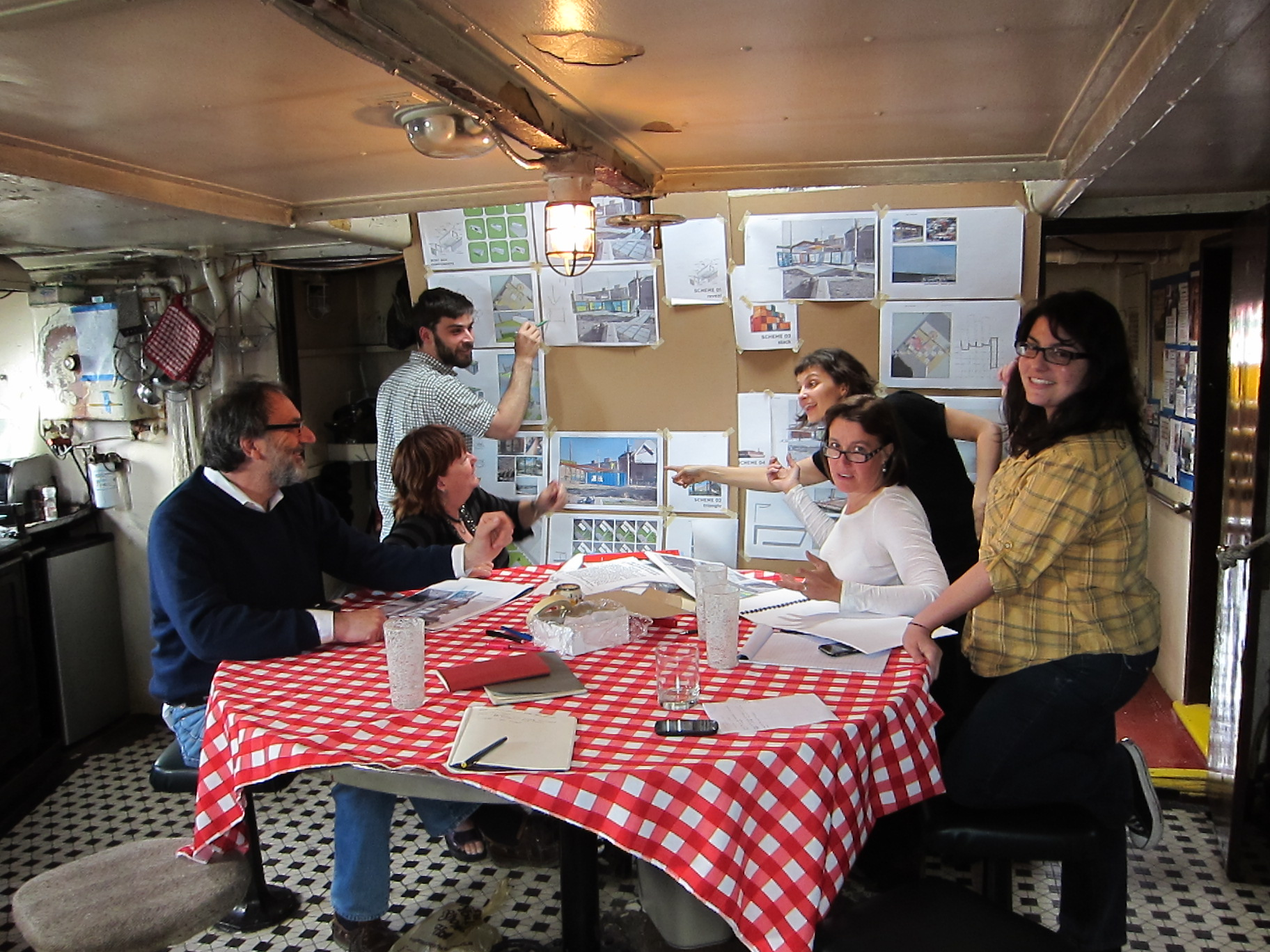 BoatBox planning meeting