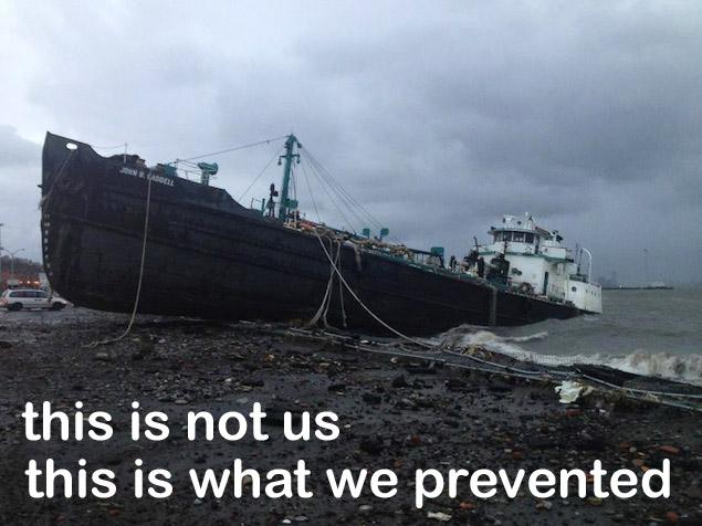 tanker John-B-Caddell aground-w-caption.jpg