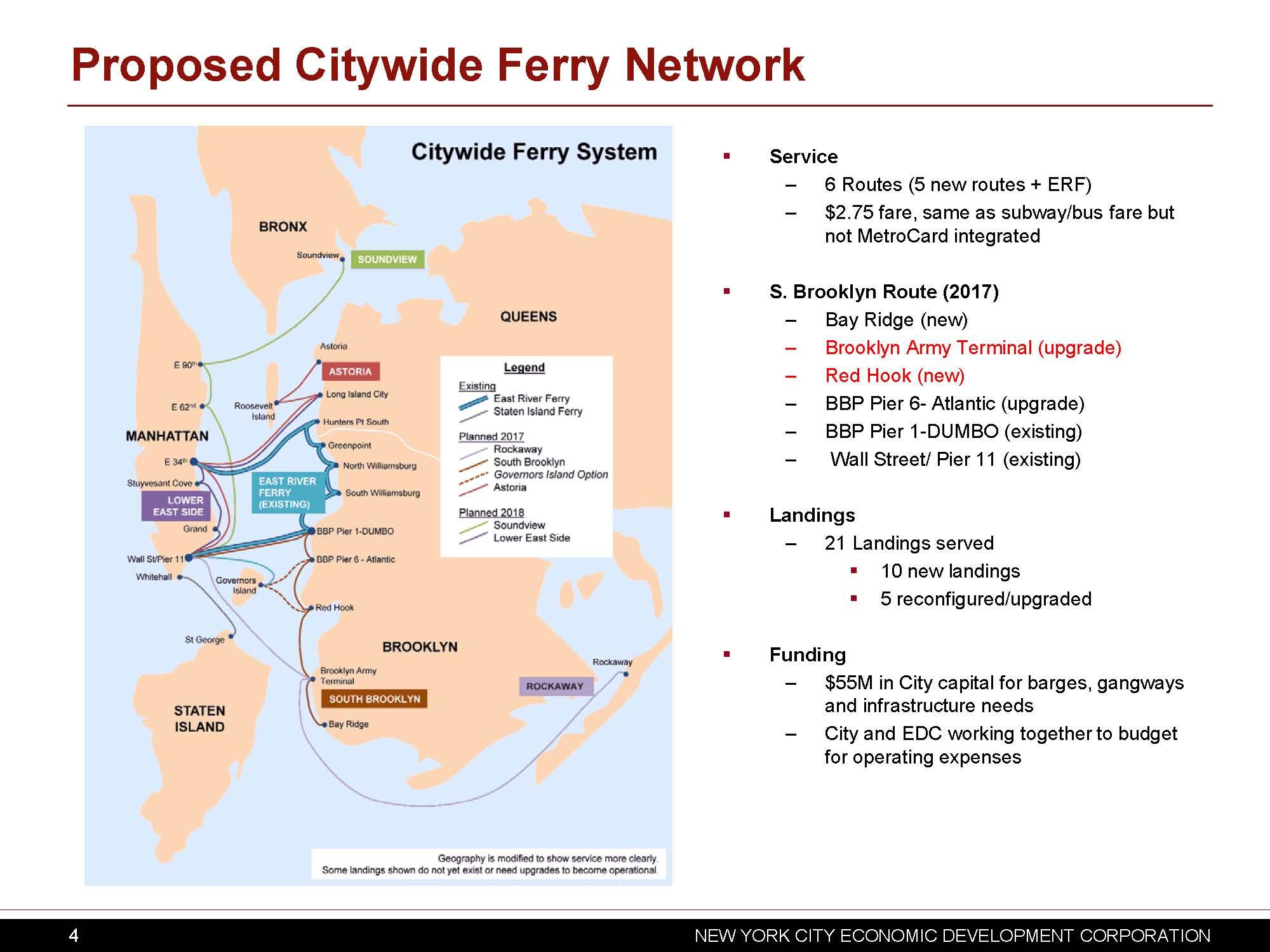 NYC EDC Map