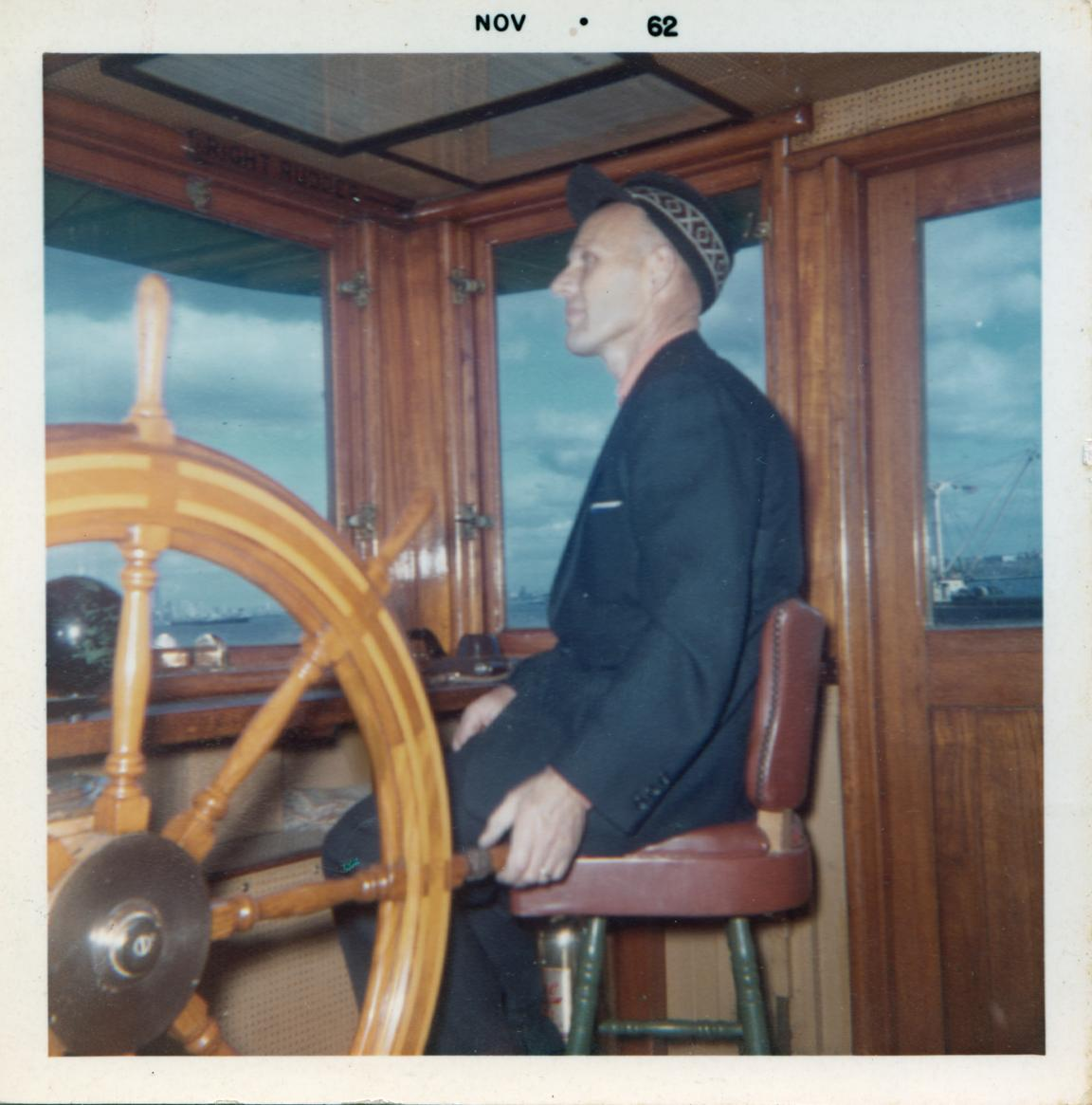 Alt Dyrland at the Wheel_1962.jpg