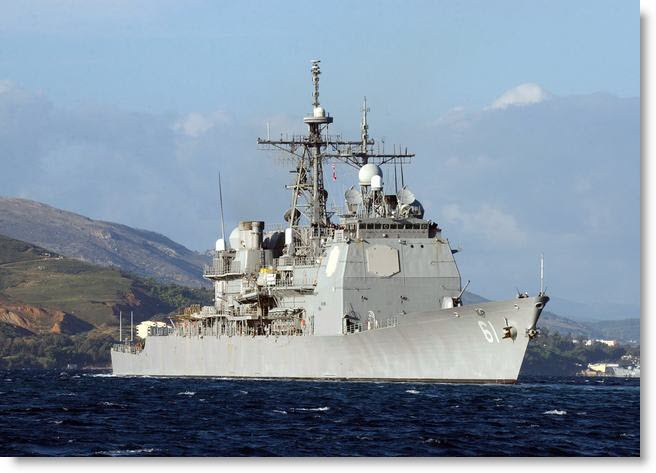 """USS MONTEREY (CG 61) : """"Rough in Battle and Ready in Peace"""""""