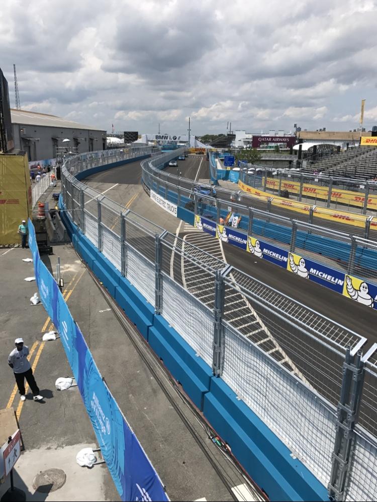 Formula-E, First electric car race