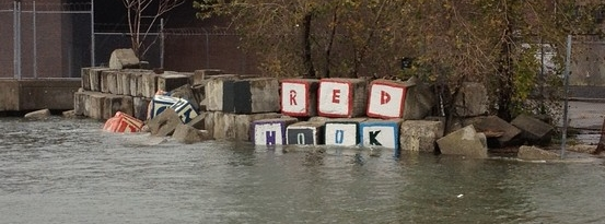 Sandy flooded Red hook blocks Valentino Park.jpg