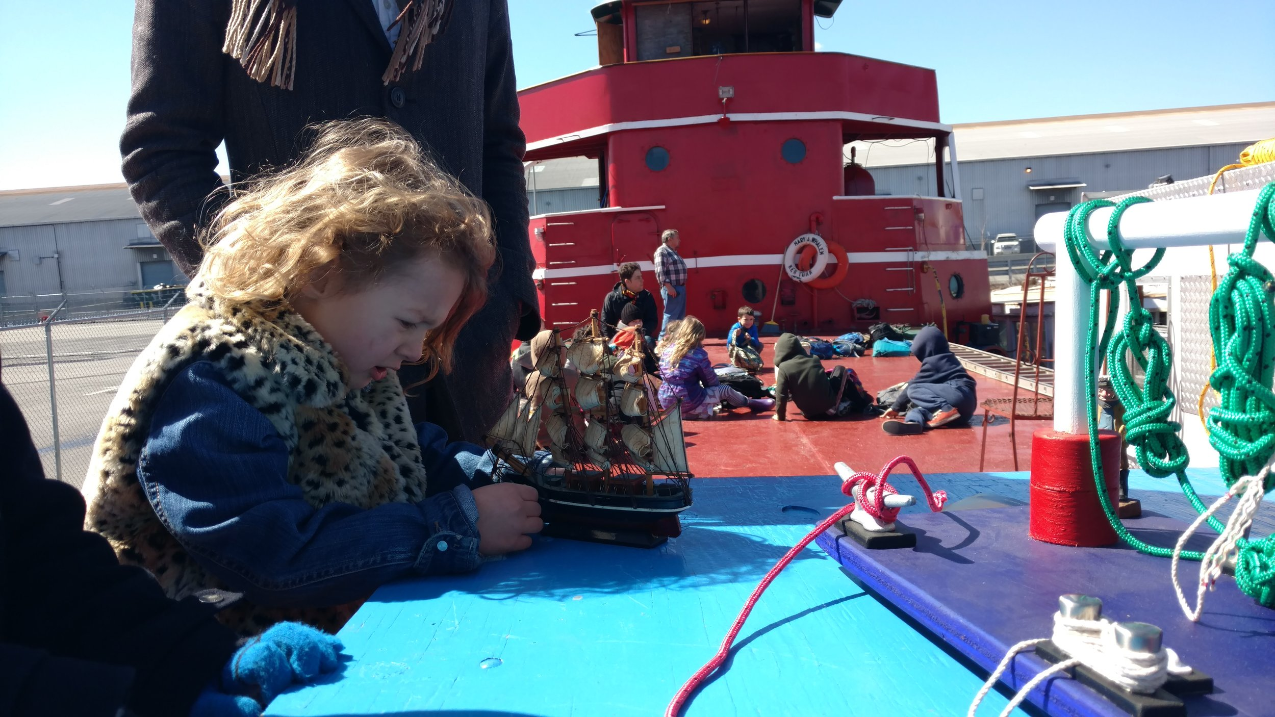 A home schooler docks her own tall ship at the knotboard!