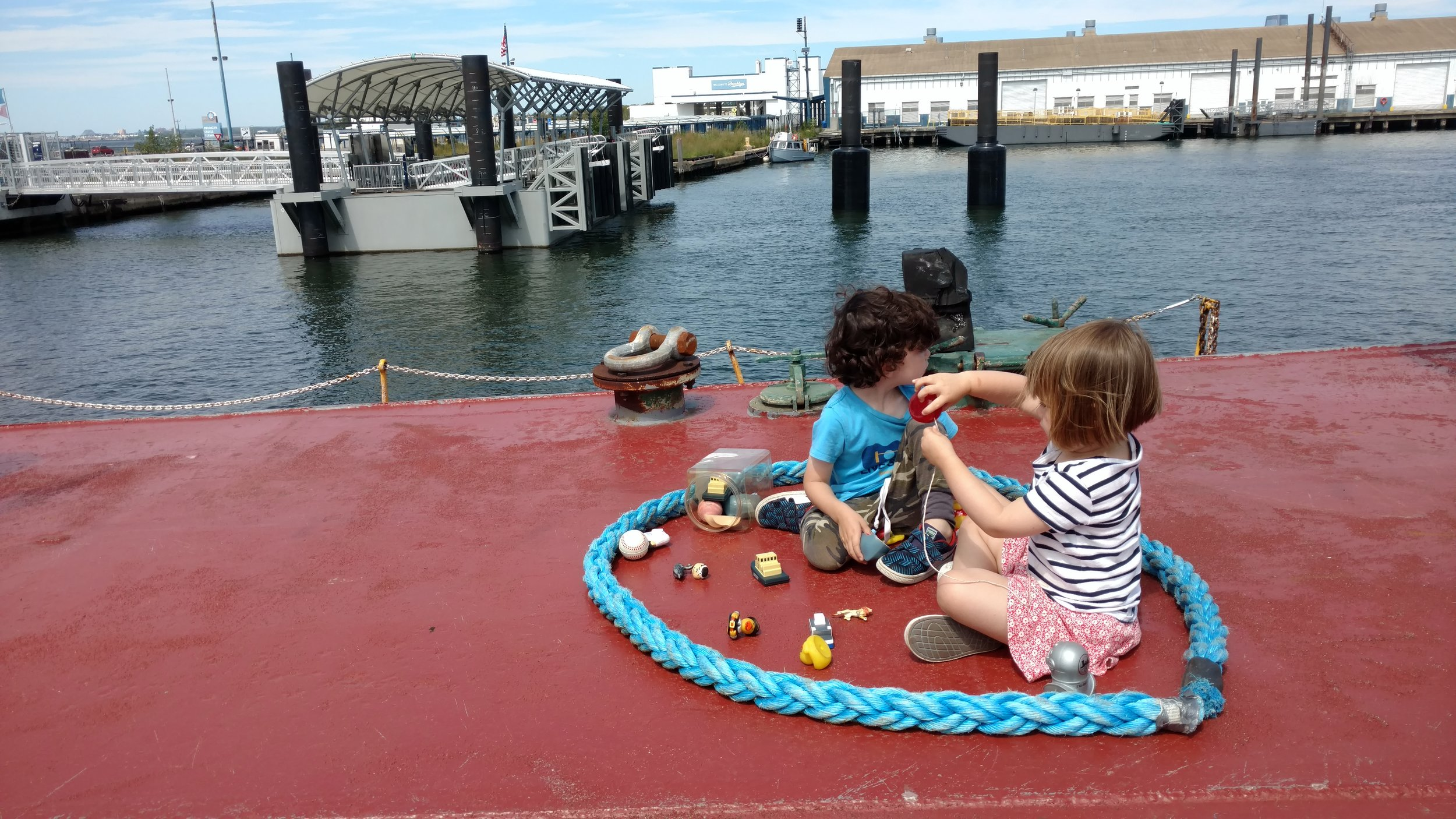 Little Visitors during weekday tankertime