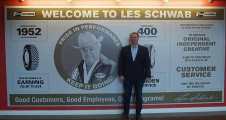 It was an honor to tour Les Schwab   headquarters in Bend recently.
