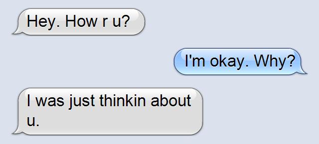 Me ex texting why boyfriend keeps my 4 Reasons