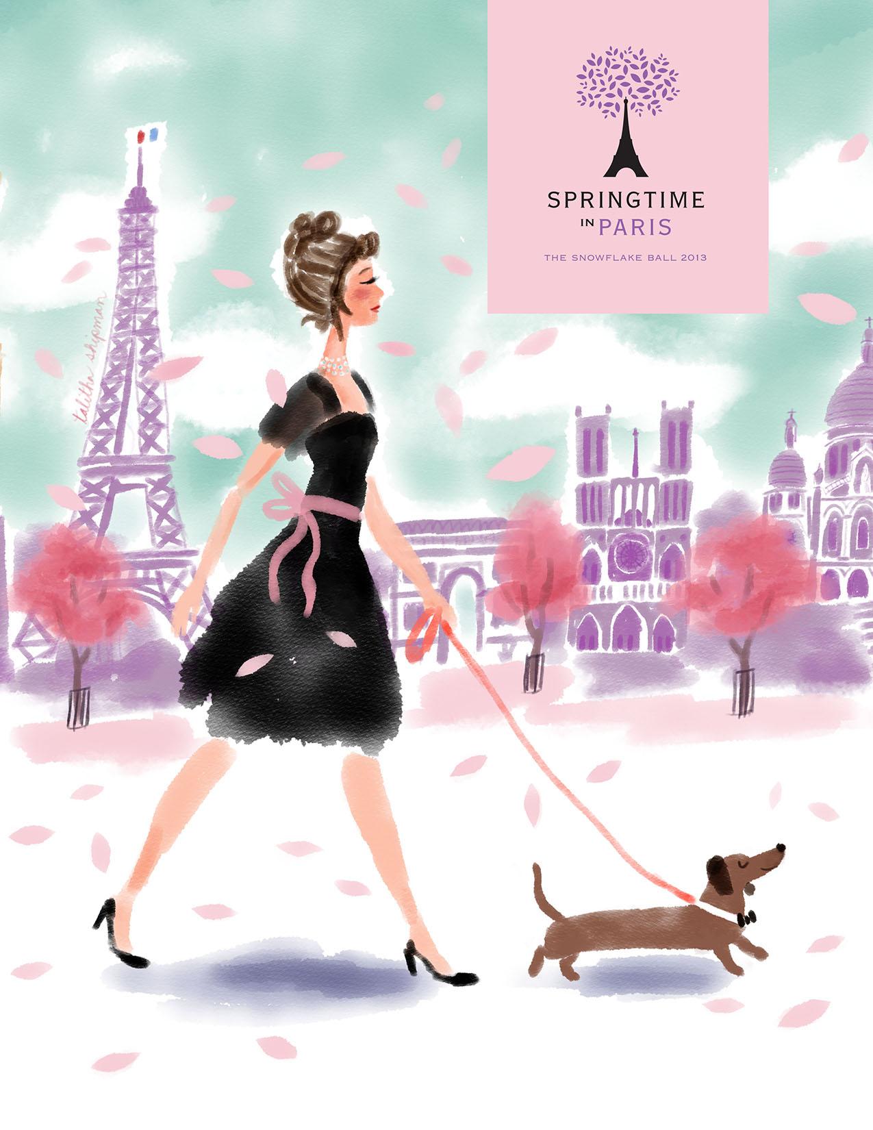 Springtime In Paris Program Cover