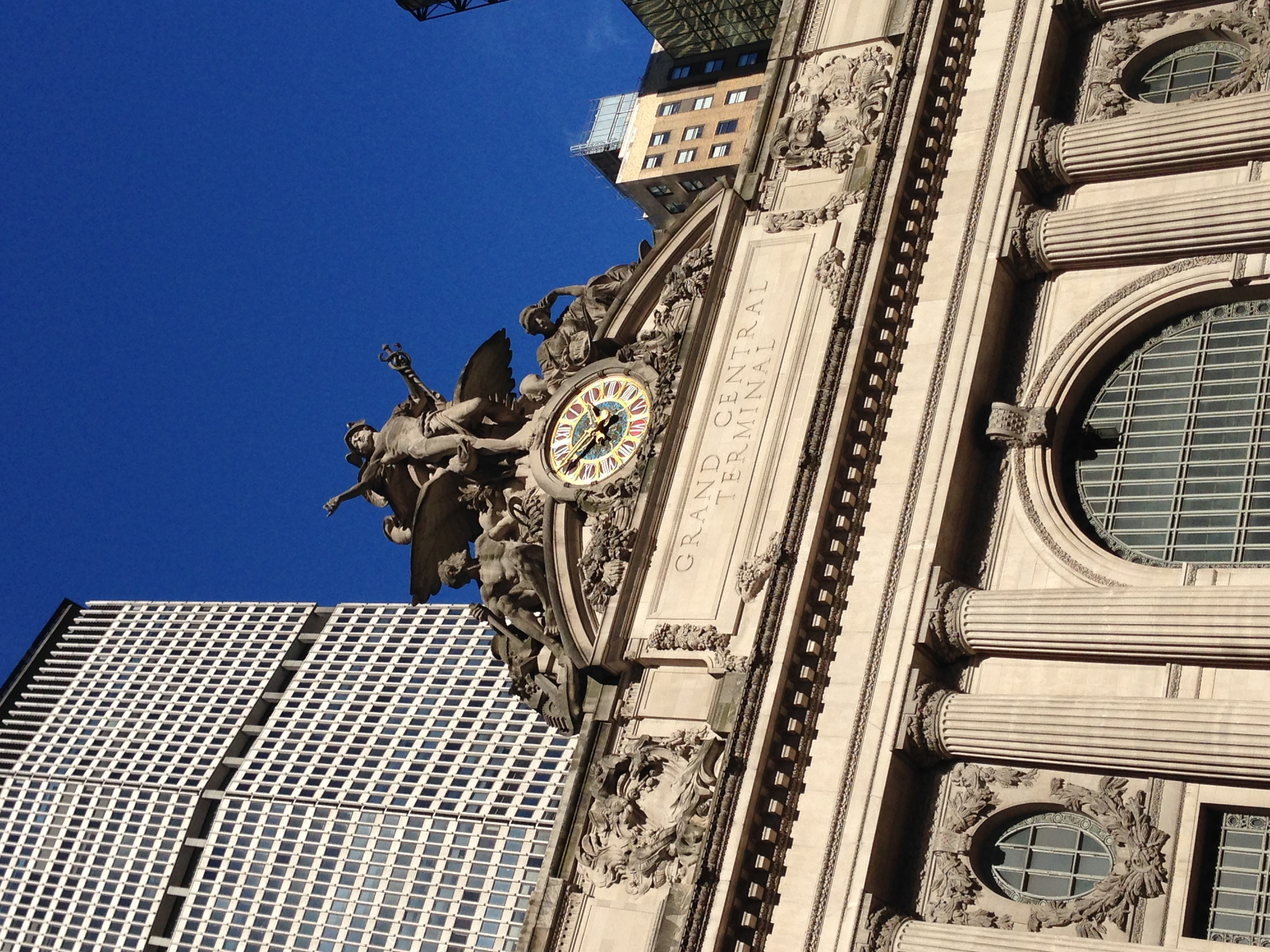 The Conference was right next to Grand Central Station.