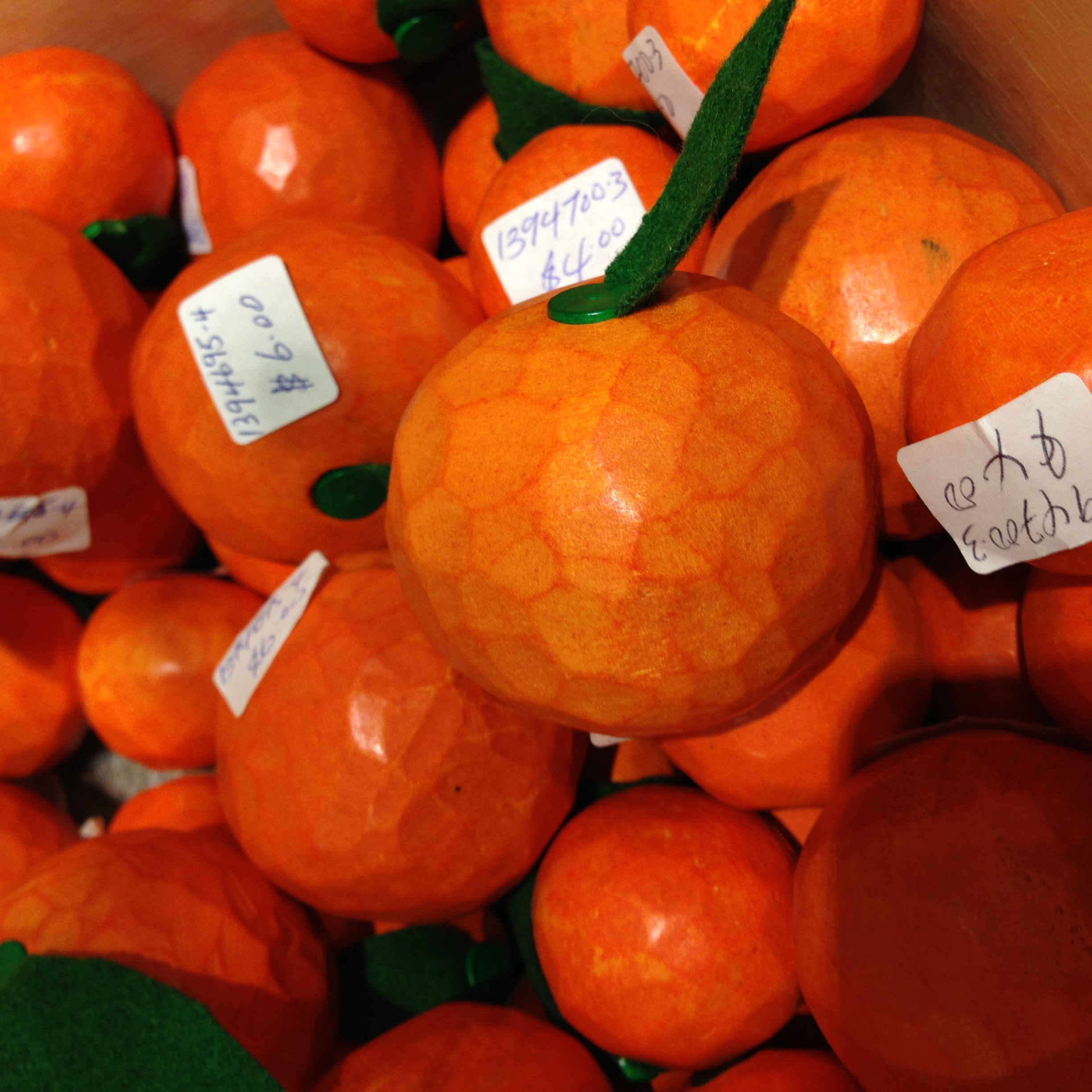 The most expensive orange you'll never eat!
