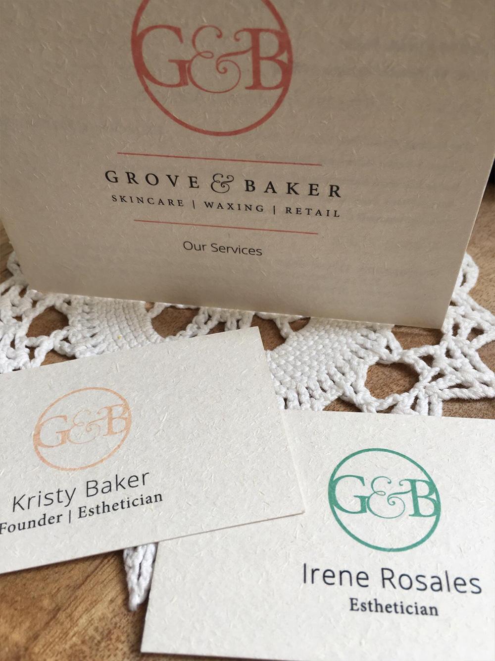 Grove & Baker Service Menu