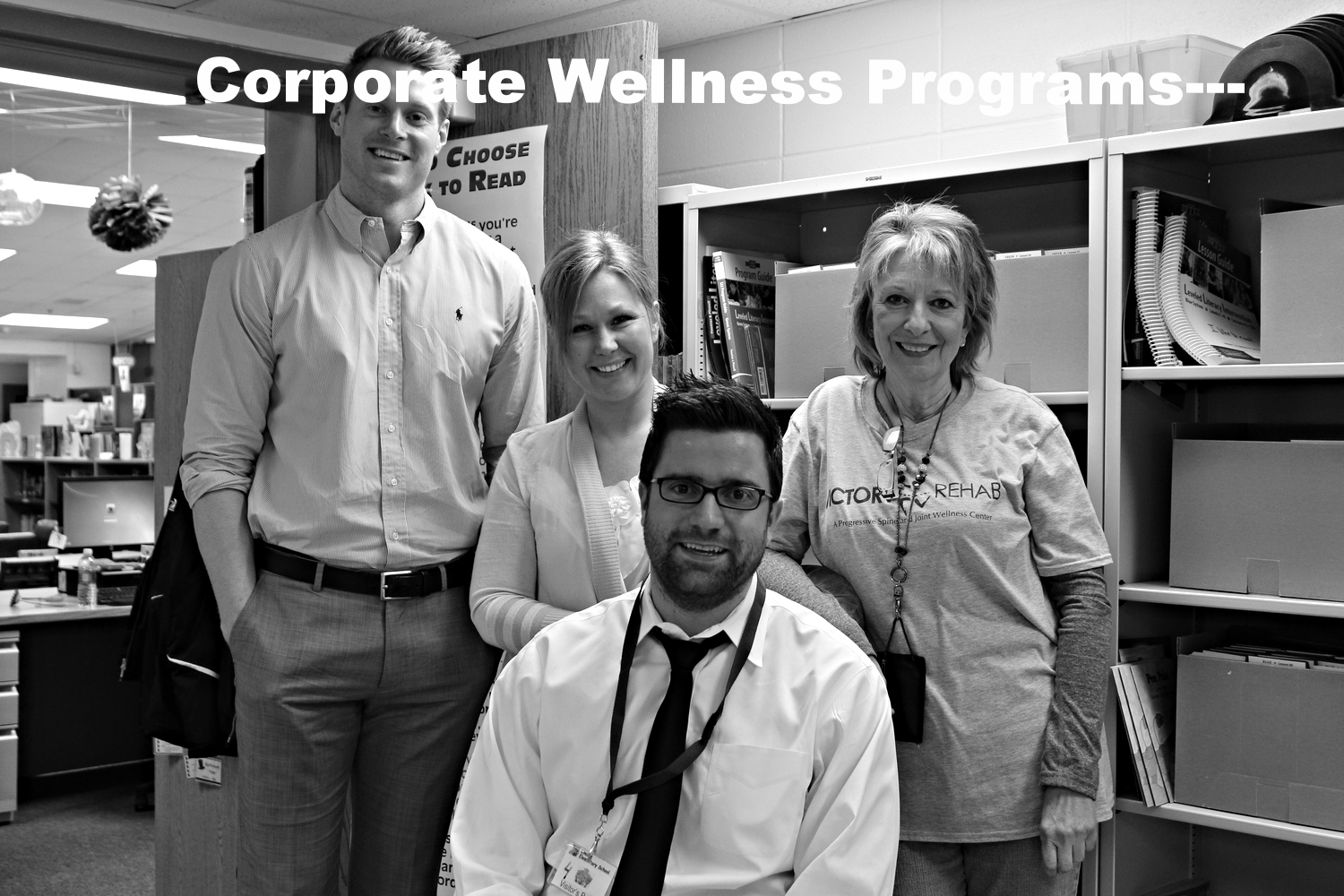 Victory Rehab has been working with Naperville charaties, corporations, schools, etc... to help establish sustainable wellness programs. Click to find out more.