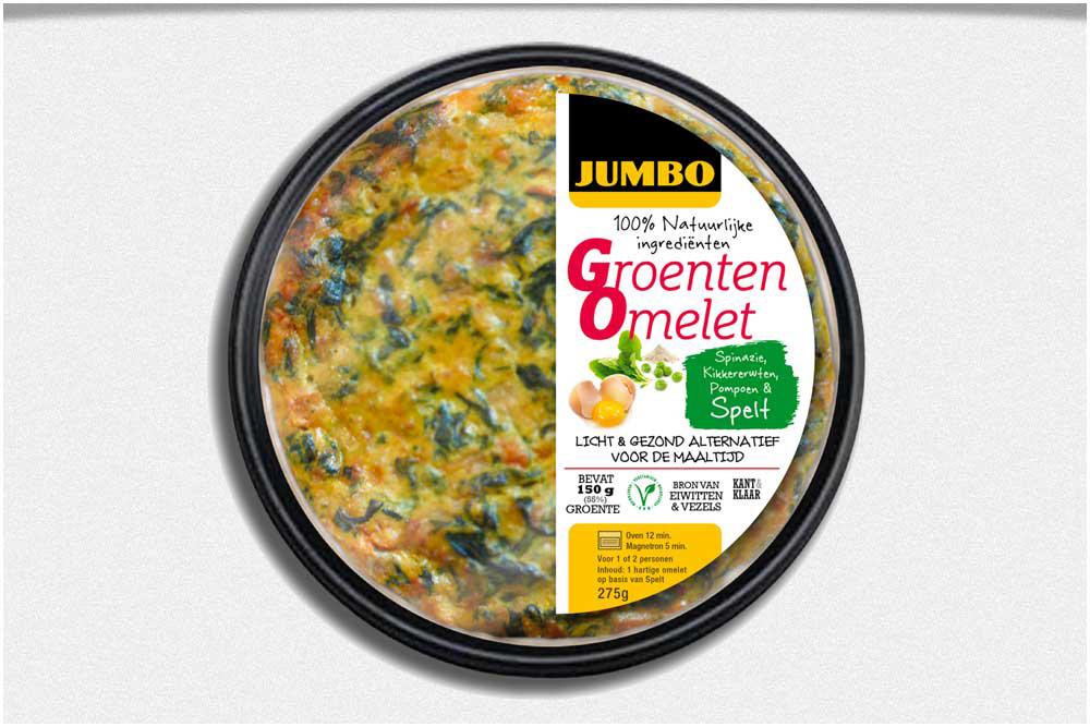 Groente omelet - Foodpitch Jumbo