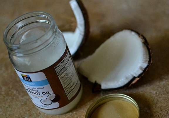extra virgin coconut oil expeller pressed unrefined healthy cooking haircare benefits skincare.JPG