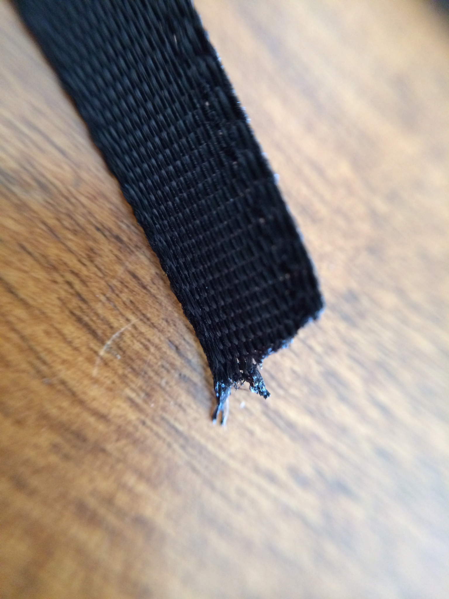 """The  ribbons  are durable but the edges do not have a """"finished"""" touch."""