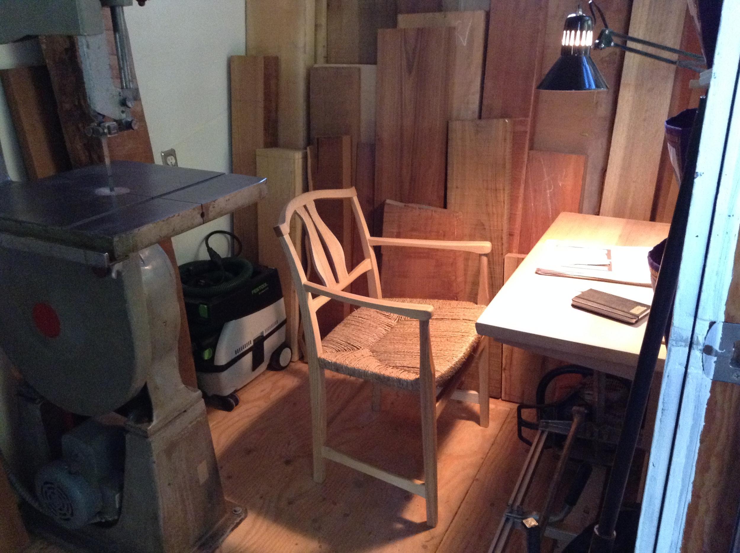 Shop Chair