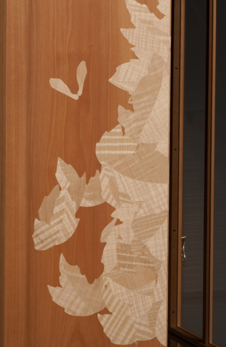 Marquetry Cabinet by Barbara Shelton photography by Ingeborg Suzanne