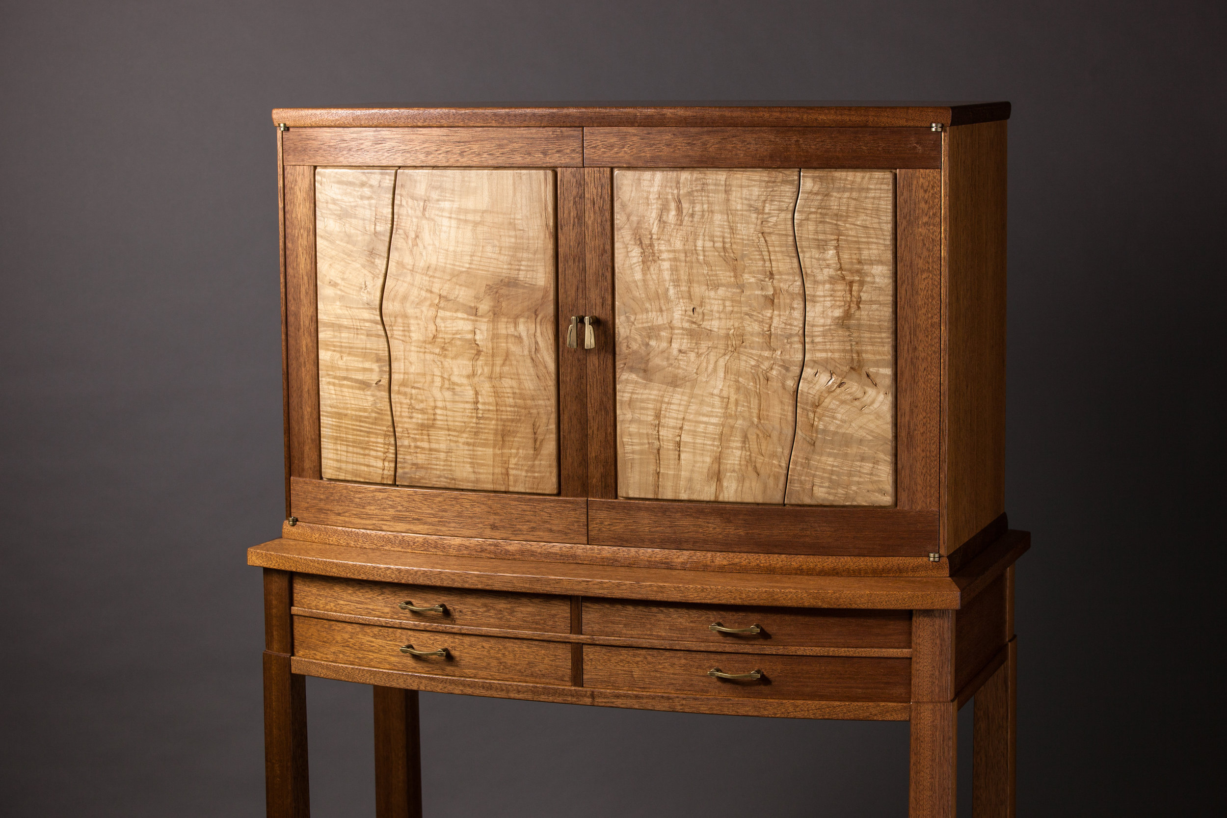 Cabinet on Stand by Spencer Barnard  Photography by Tim Andries
