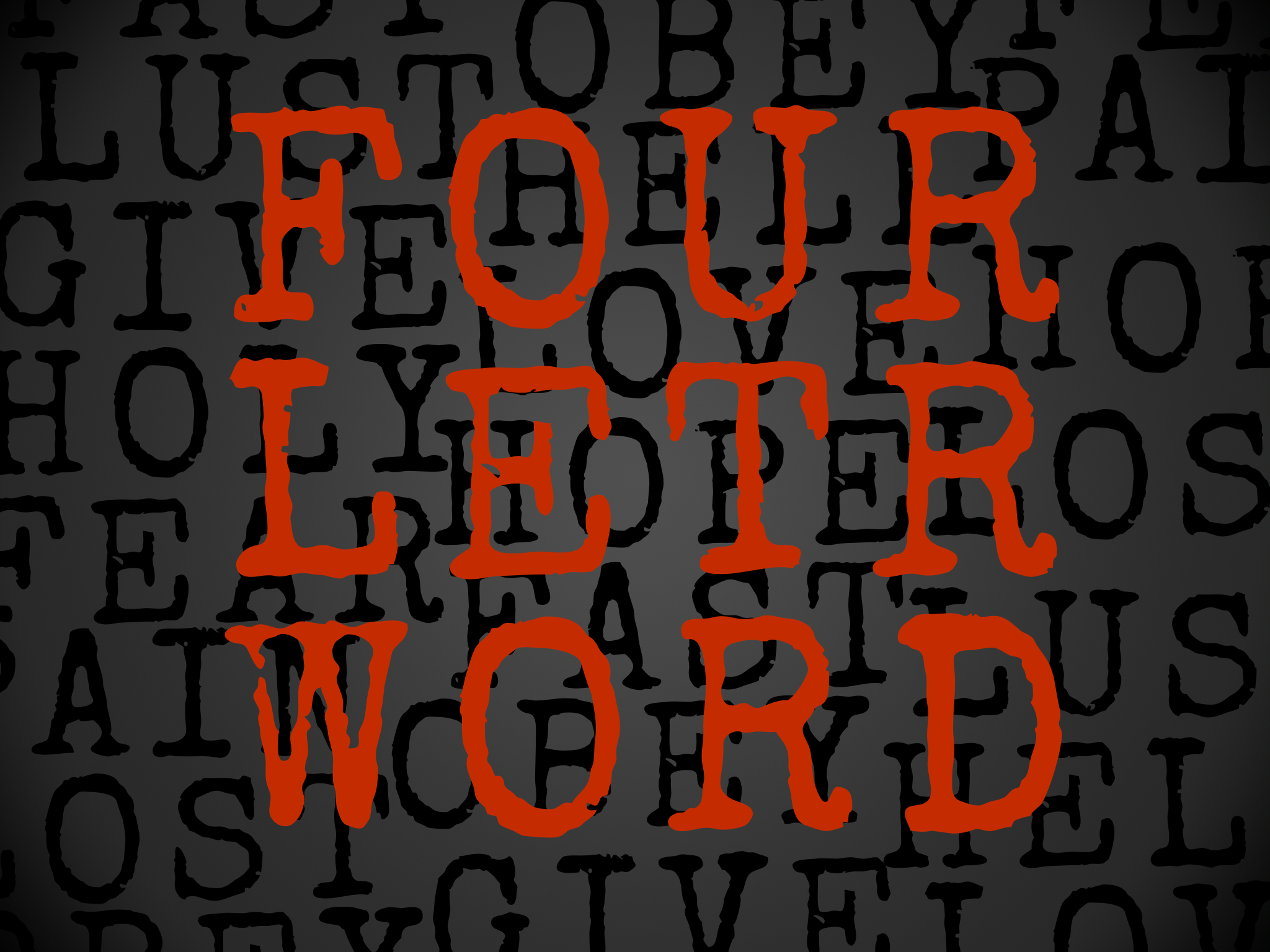Four Letter O Words.Hope Is A Four Letter Word Hope Church